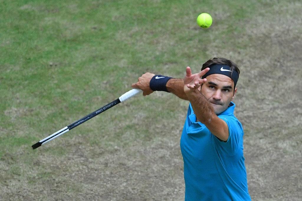Federer Halle QF 2018