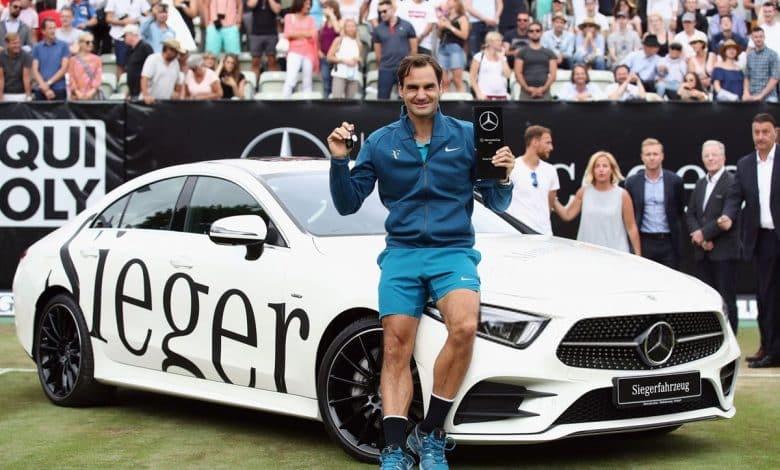 Federer Stuttgart Champion 2018