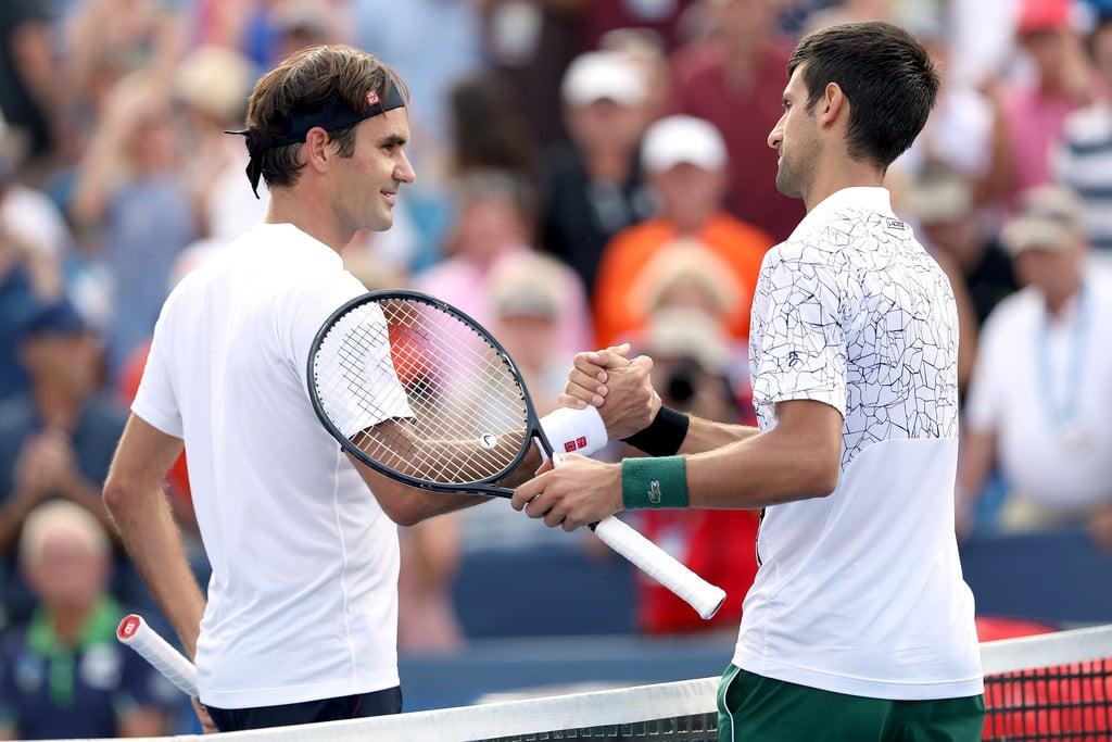 reputable site 12e21 e2269 Djokovic Routines Federer to Win Maiden Cincinnati Masters Title