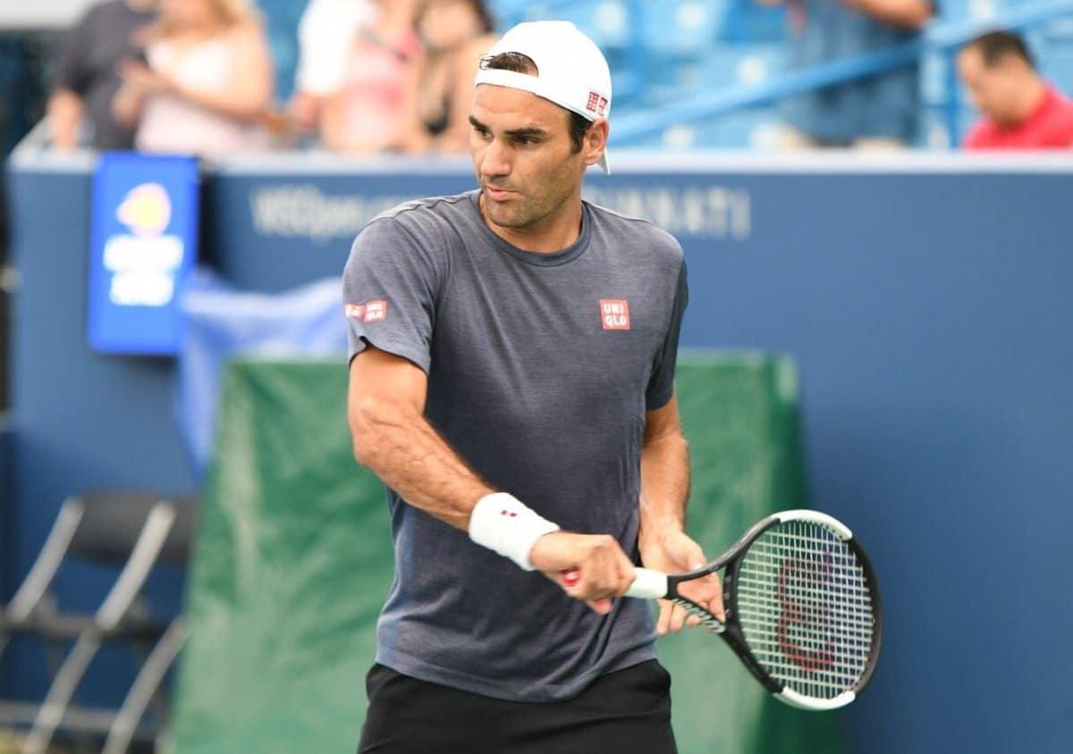Federer Cincy 2018 Practice