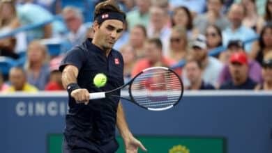 Photo of Federer into Cincinnati Final after Goffin Retires