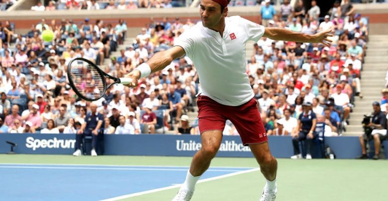 Federer Paire US Open 2018