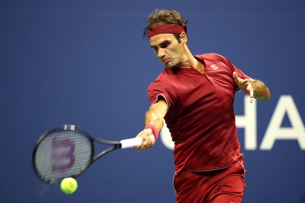 Federer USO 2018 Round 1