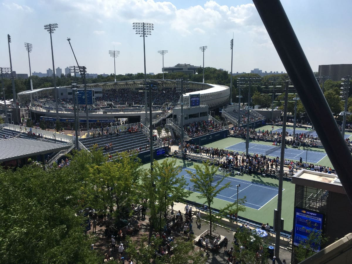 Ashe from Grandstand