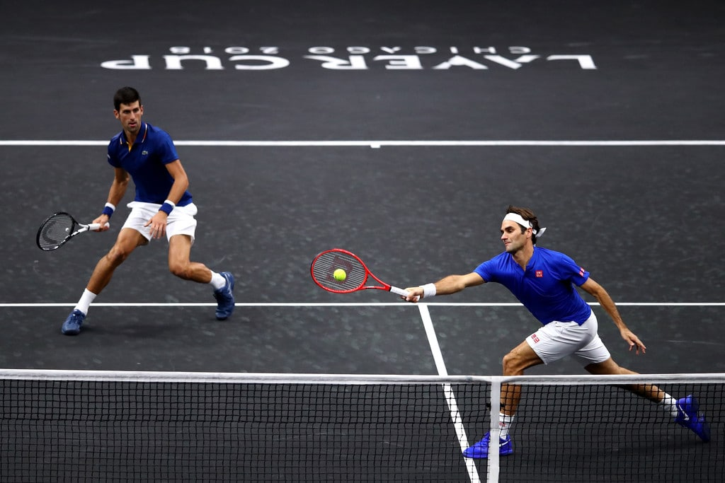 Fed Djok Laver Cup Doubles