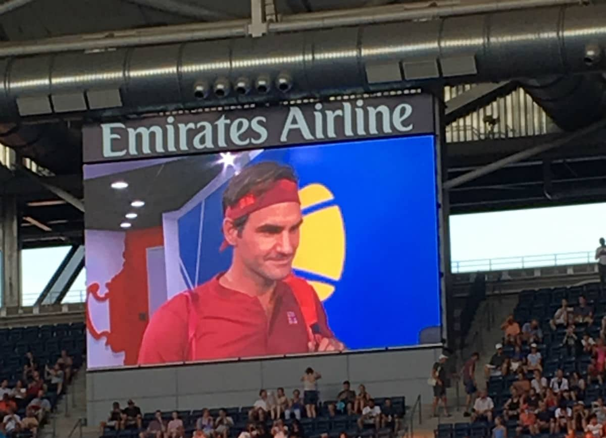 Federer Interview USO 18