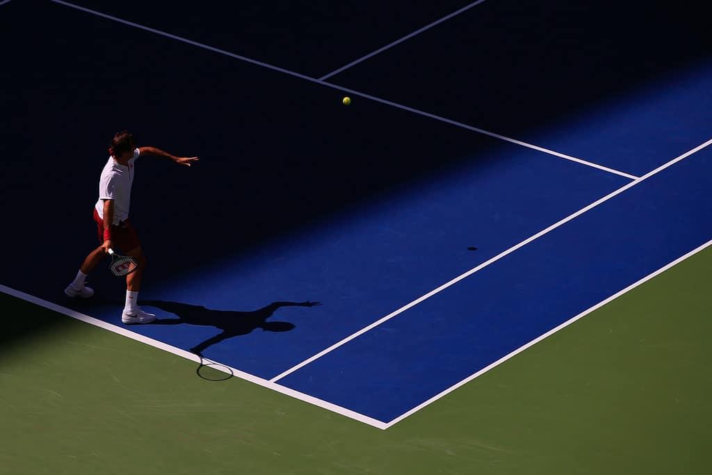 Federer Kyrgios US Open 2018