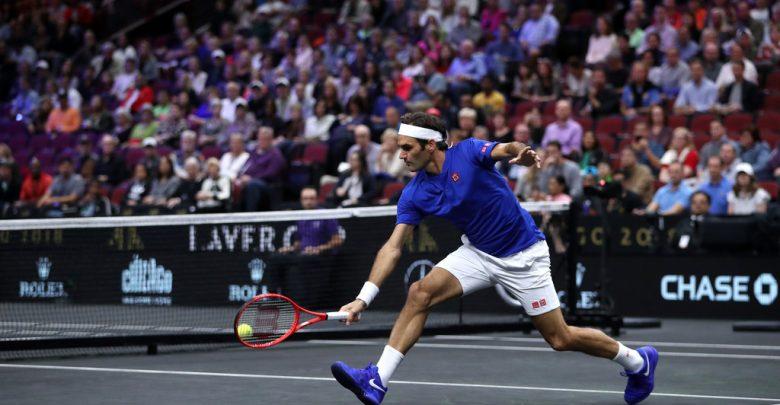 Federer Laver Cup 2018 Kyrgios