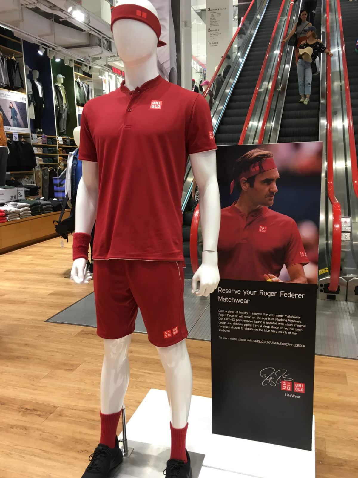 Federer Uniqlo Store