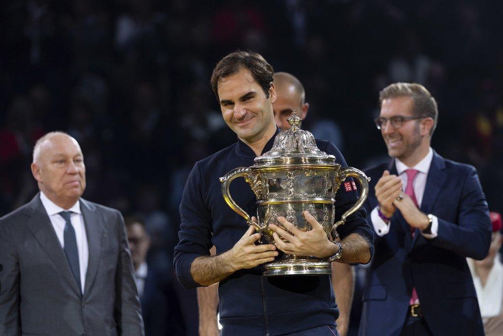 Federer Basel Trophy 2018