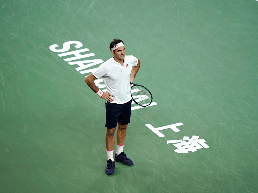 Federer Coric Shanghai 2018