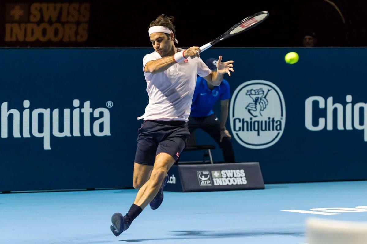 Federer Forehand Basel 1R 2018