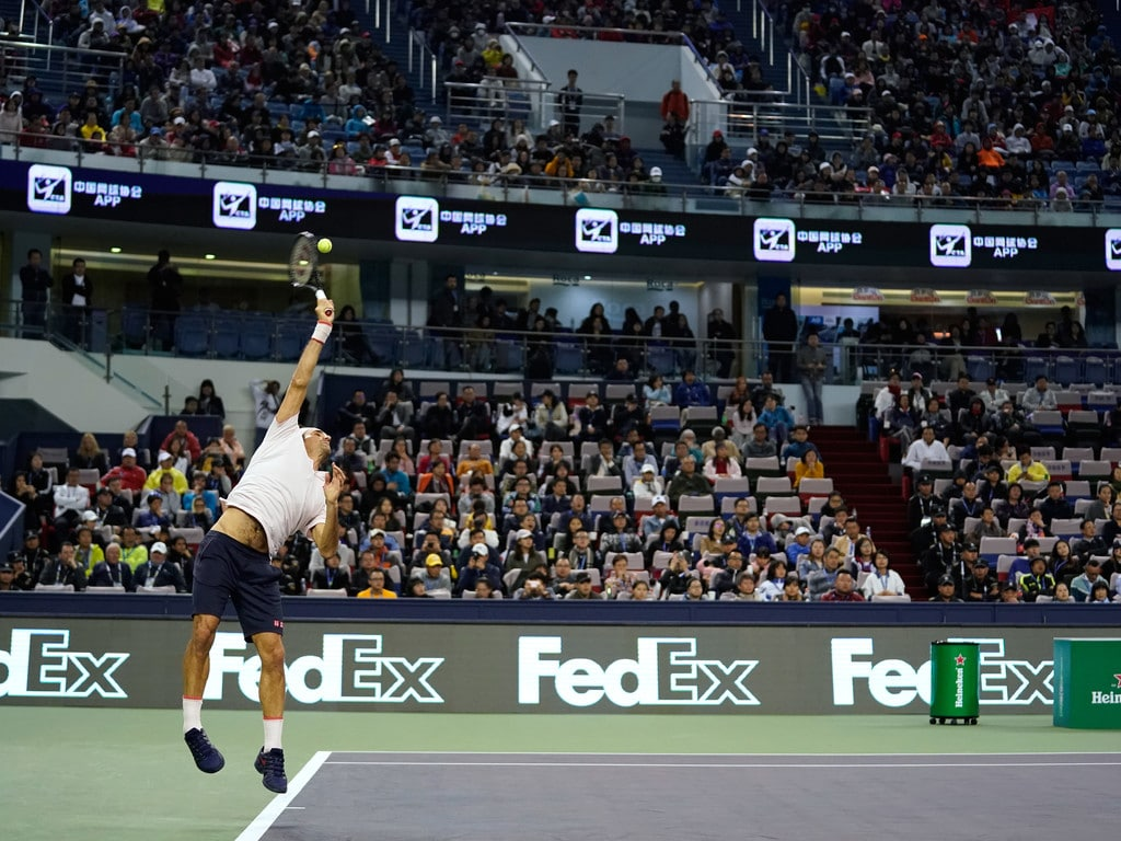 Federer Nishikori Shanghai 2018