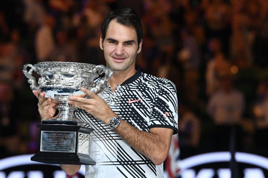 Federer Rolex GMT-Master II Ref. 116710 BLNR