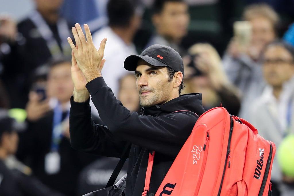 Federer Shanghai Quarter Final 2018