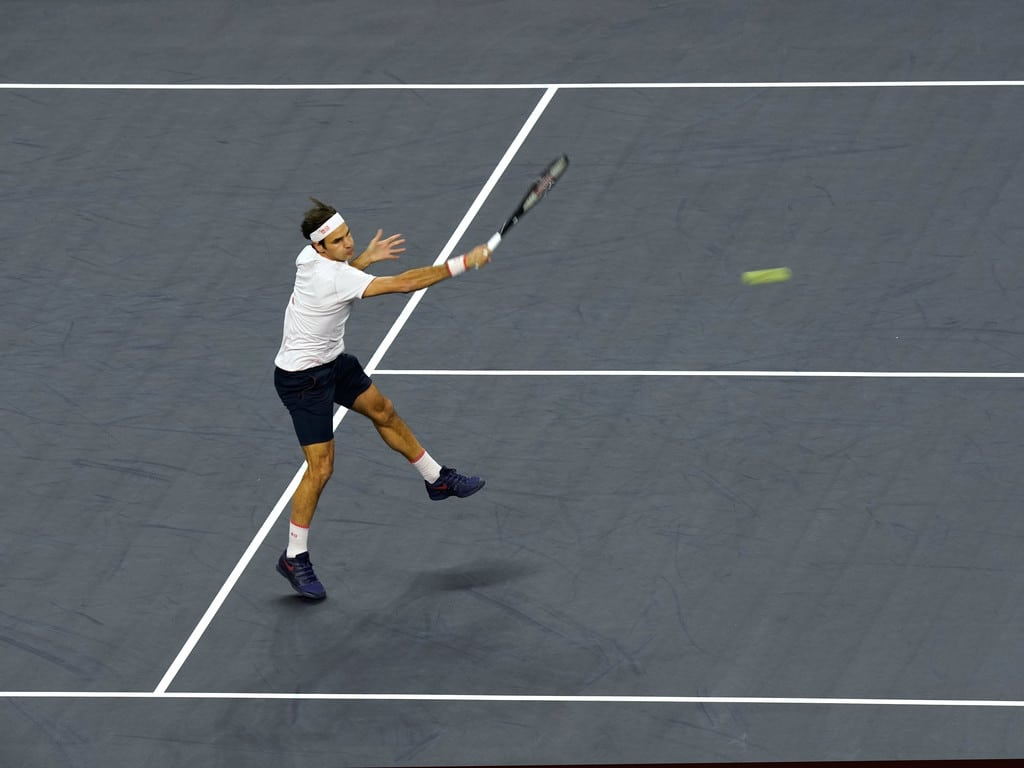 Federer Shanghai Semi Final 2018