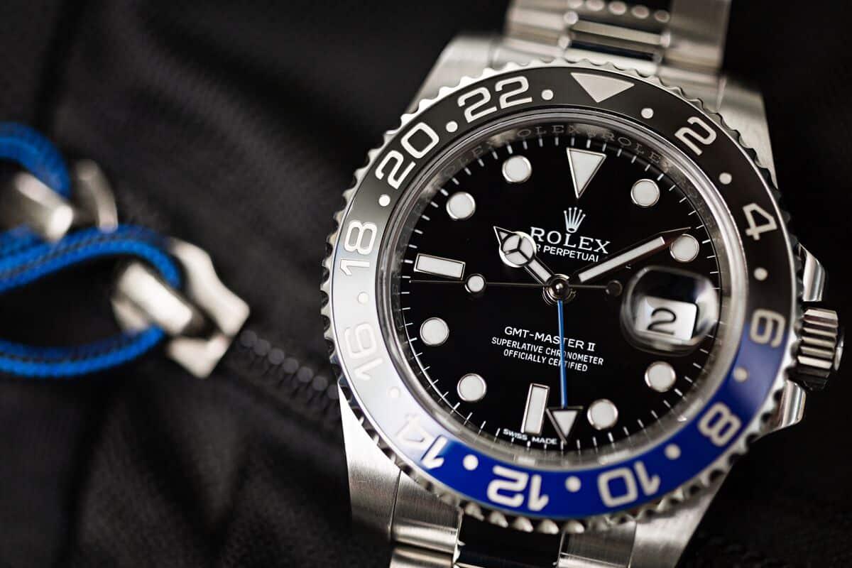 Rolex-GMT-Master-II-116710BLNR Federer