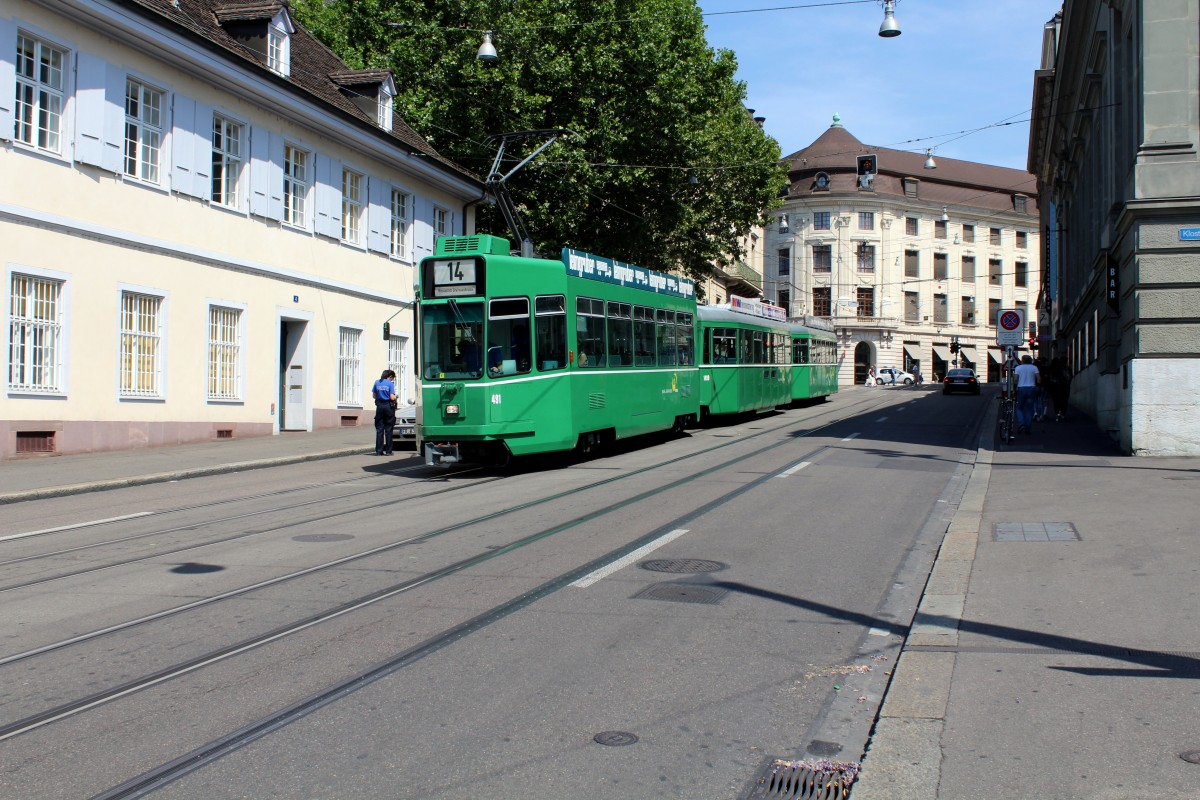 Basel Tram 14
