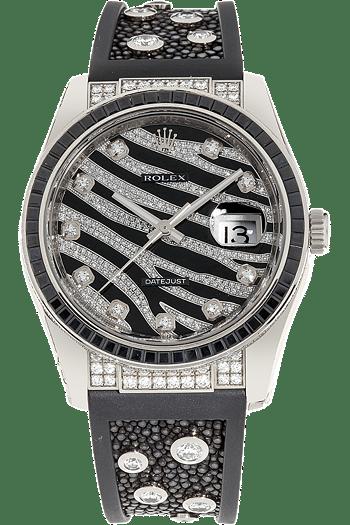 Datejust Royal Black Zebra