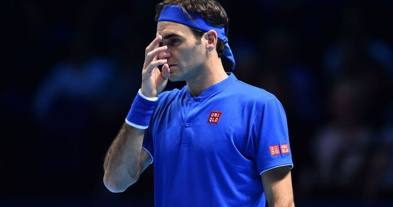 3fa640e9860 Federer Flops in World Tour Finals Opener - peRFect Tennis
