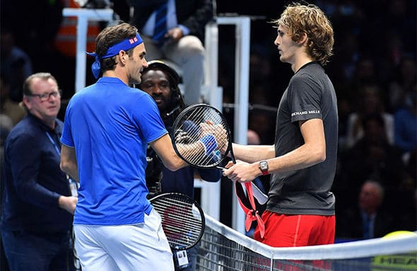 Fed Zverev World Tour Finals 18