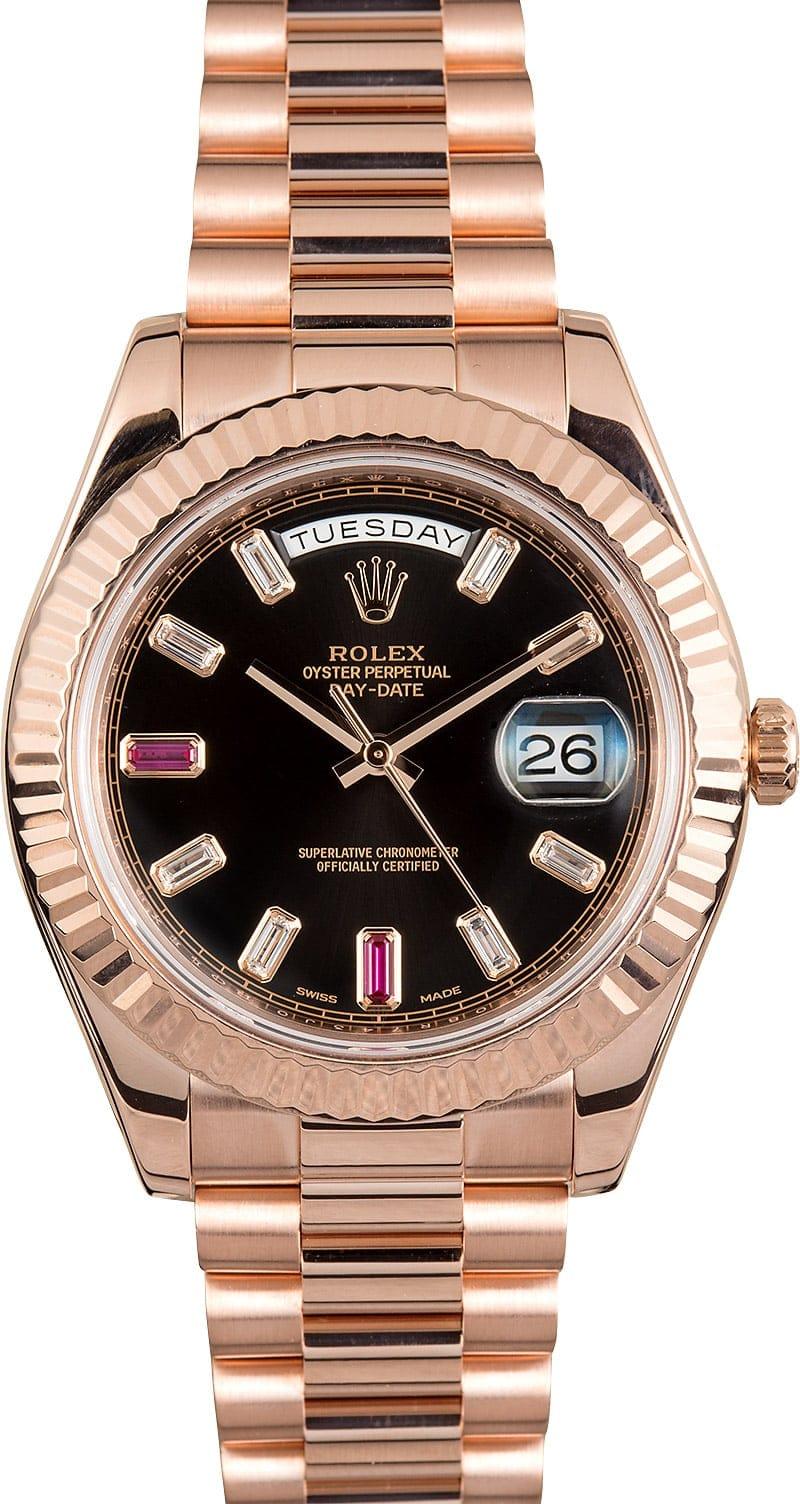 Federer Day Date Everose Gold