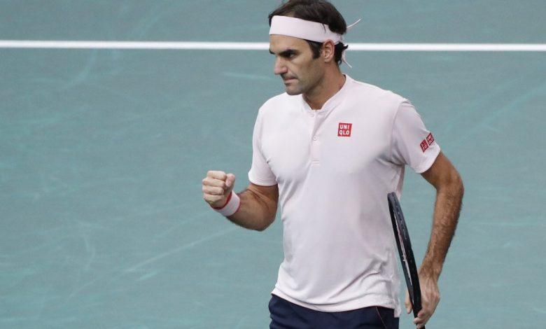 Federer Nishikori Bercy