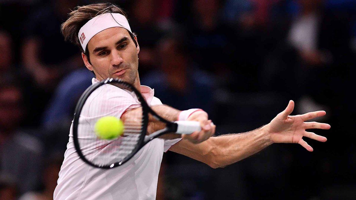 Federer Nishikori Paris Indoors