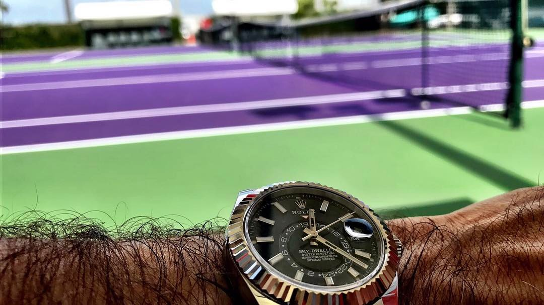 Federer Rolex Sky Dweller