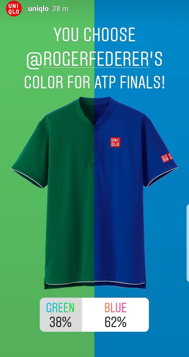 Uniqlo Federer World Tour Finals 2018
