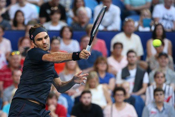 Federer Hopman Cup 2019 GB