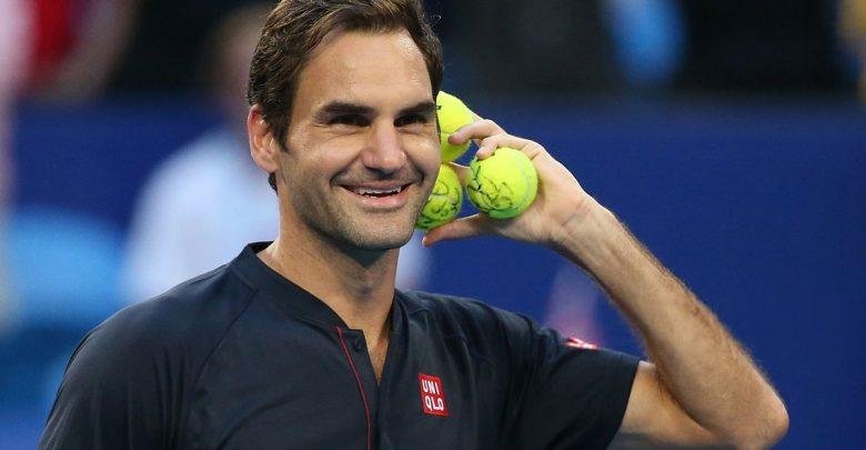Federer Hopman Cup GB 2019