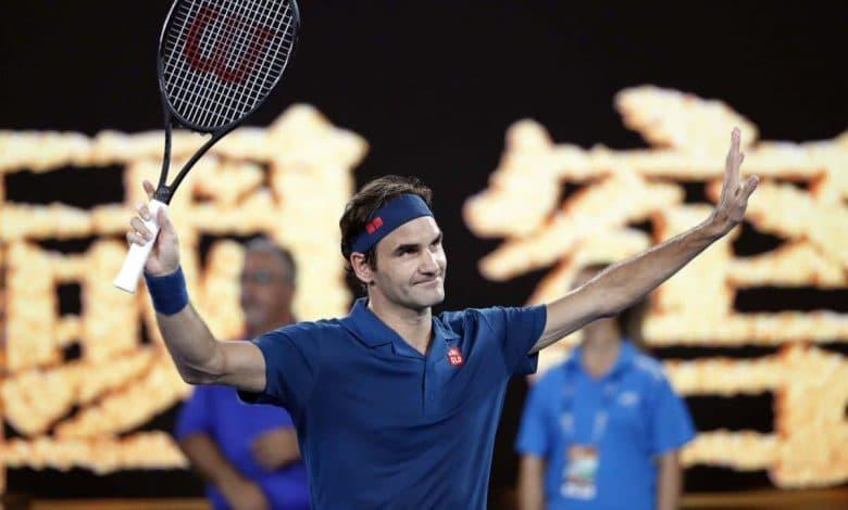 Federer Istomin AO 2019