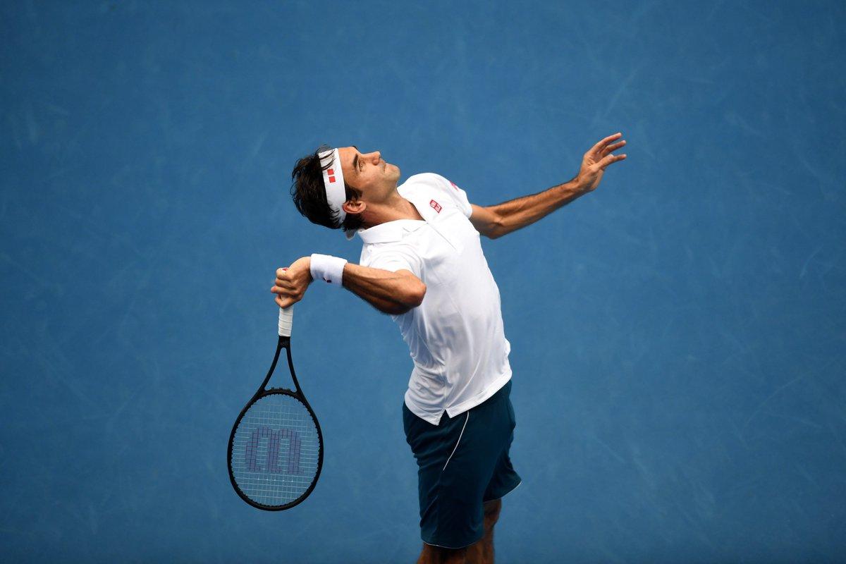 Federer Round 2 AO