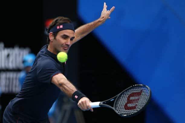 Federer Tsitisipas Hopman Cup