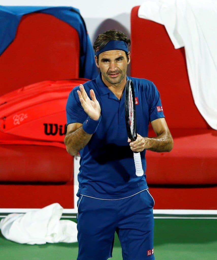Federer Dubai 1st R 2019