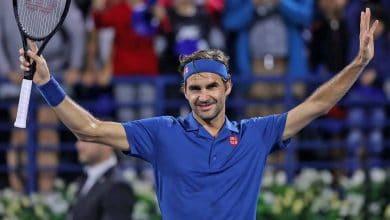 Federer Dubai QF 2019