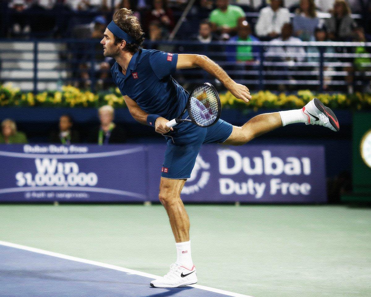 Federer Fucsovics Dubai