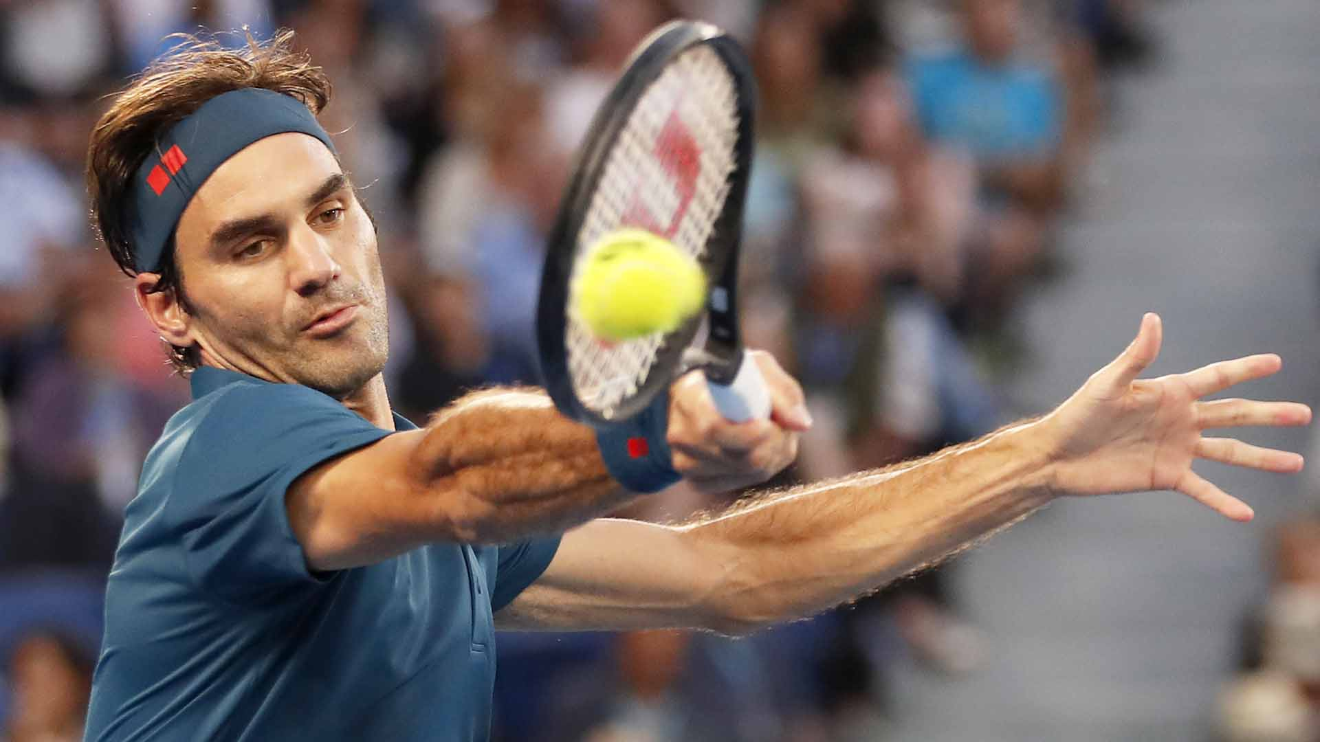 Federer Kohli Dubai 2019