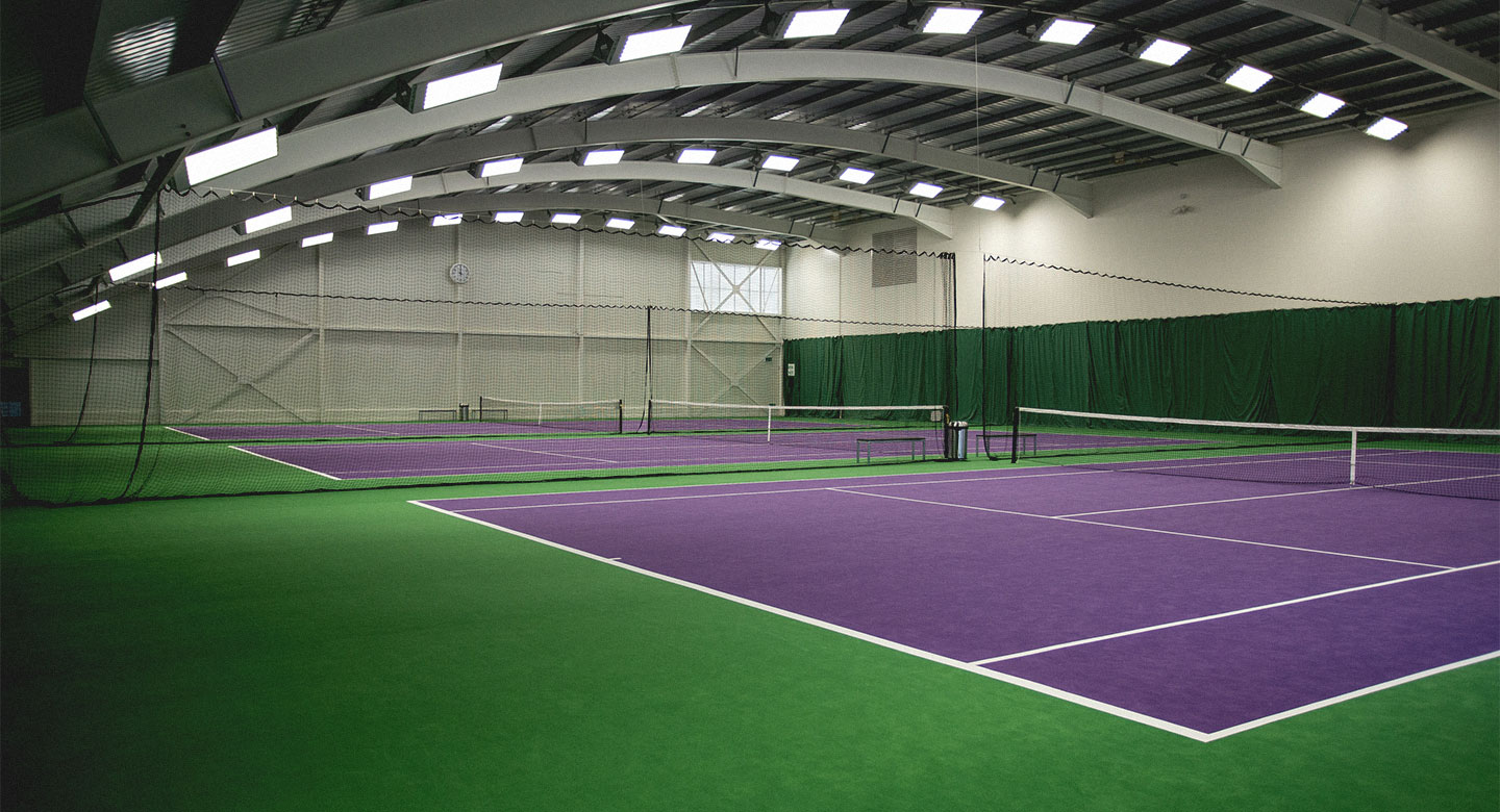 Tennis Court Overhead Space
