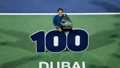 Photo of Classy Federer Captures 100th Career Title in Dubai