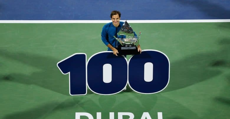 Classy Federer Captures 100th Career Title In Dubai