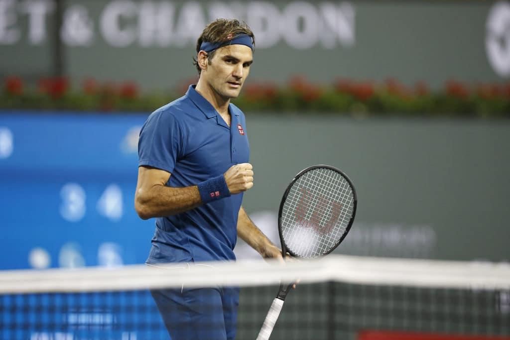 Federer 3R Indian Wells 2019