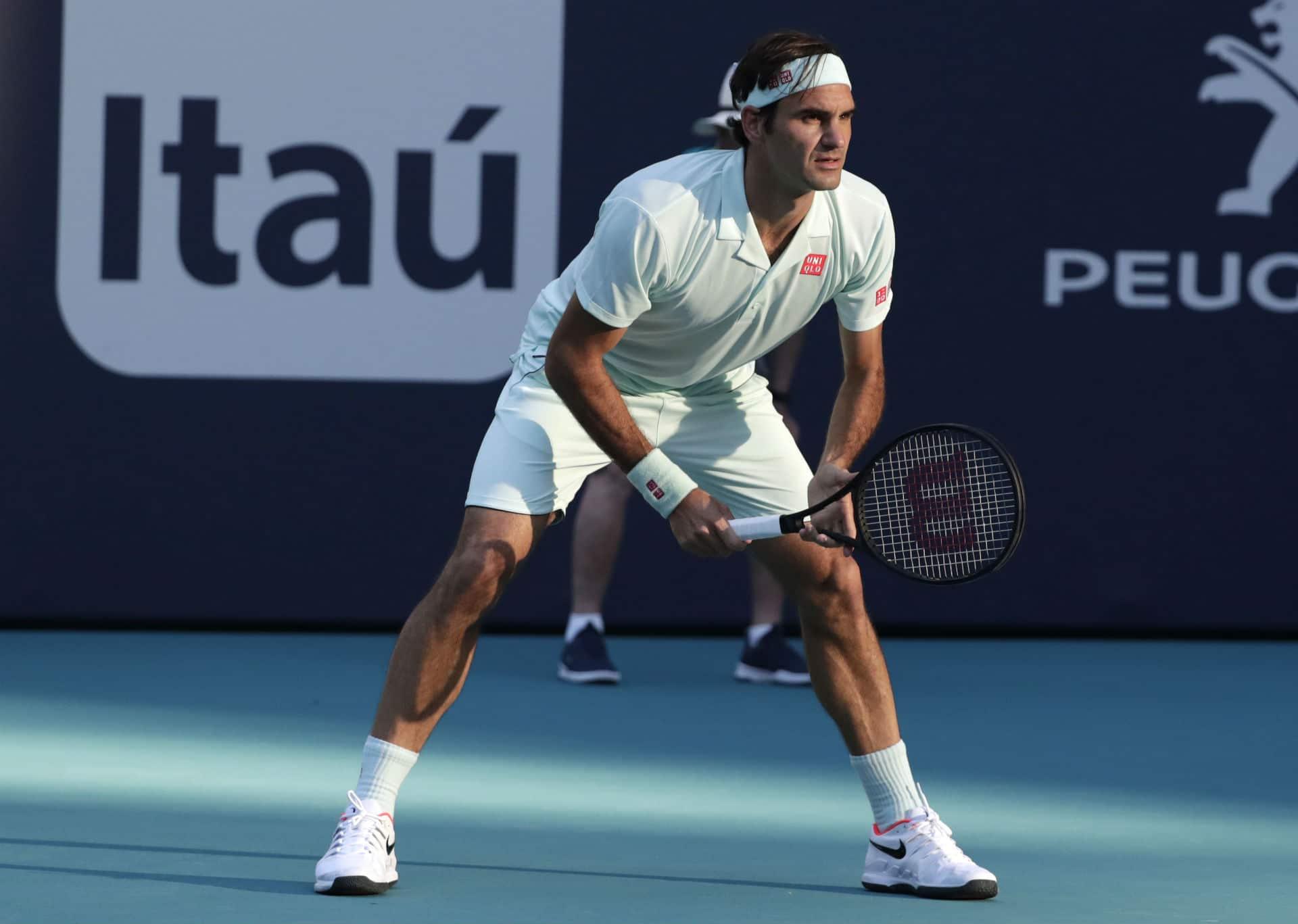 Federer Albot Miami Open