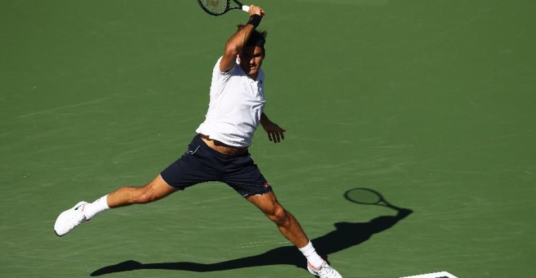 Federer Edmund Indian Wells 2019