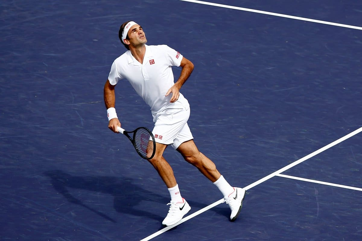Federer Gojowyczk Indian Wells 19