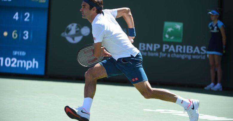 Federer Hurkacz IW 2019