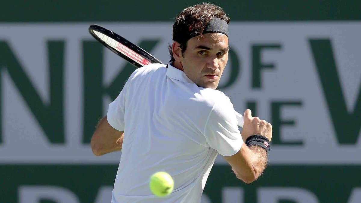Federer IW QF 2019