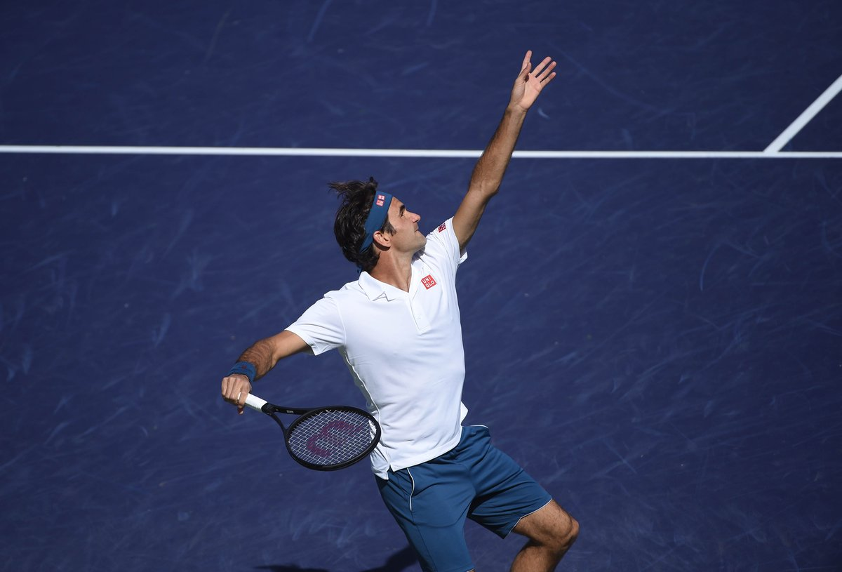 Federer Indian Wells QF 2019