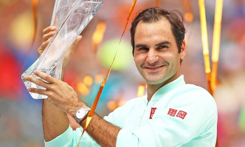 Federer Miami 2019 Champion